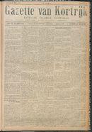 Gazette van Kortrijk 1916-05-27