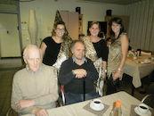 Elke Delefortrie, Riet Buyse, Kimberley Perard, Aurel Dumortier en Renaat Vancompernolle