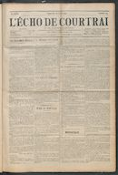 L'echo De Courtrai 1914-04-26