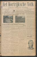 Het Kortrijksche Volk 1912-09-08
