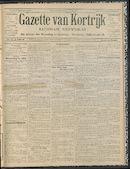 Gazette Van Kortrijk 1912-09-08
