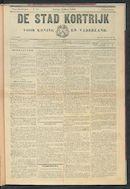De Stad Kortrijk 1899-03-12