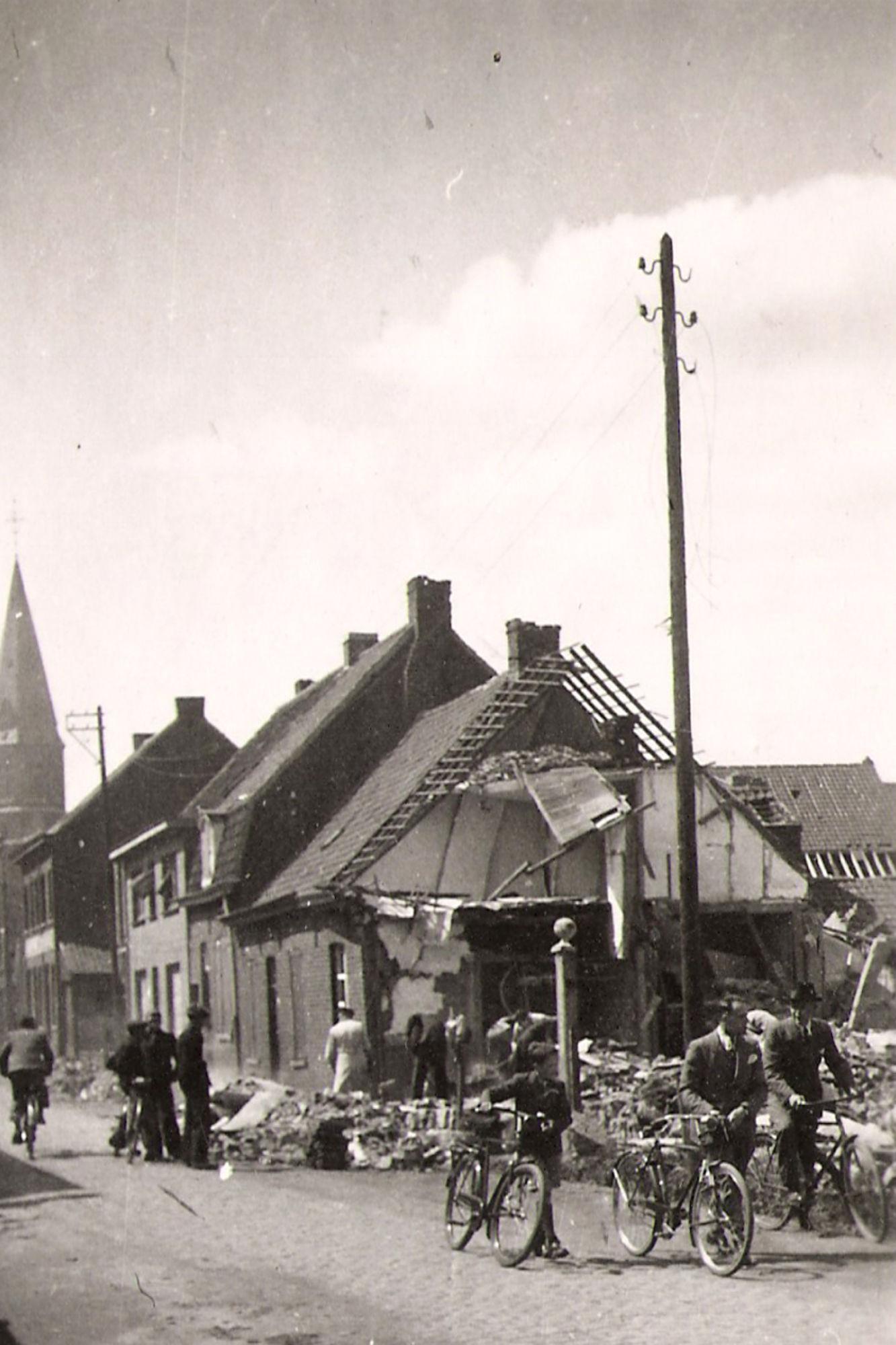 Markstraat Marke anno 1943