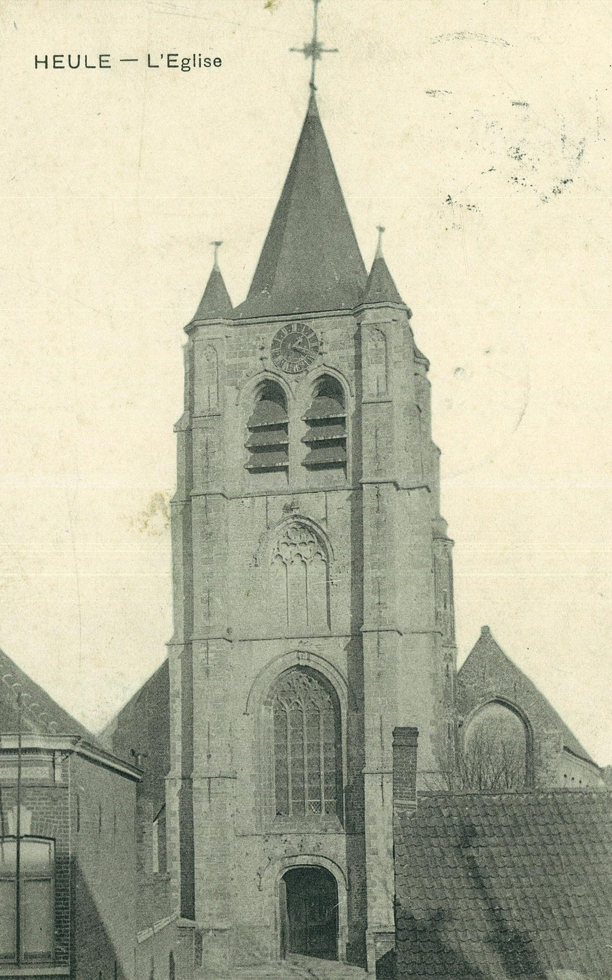 De kerk van Heule