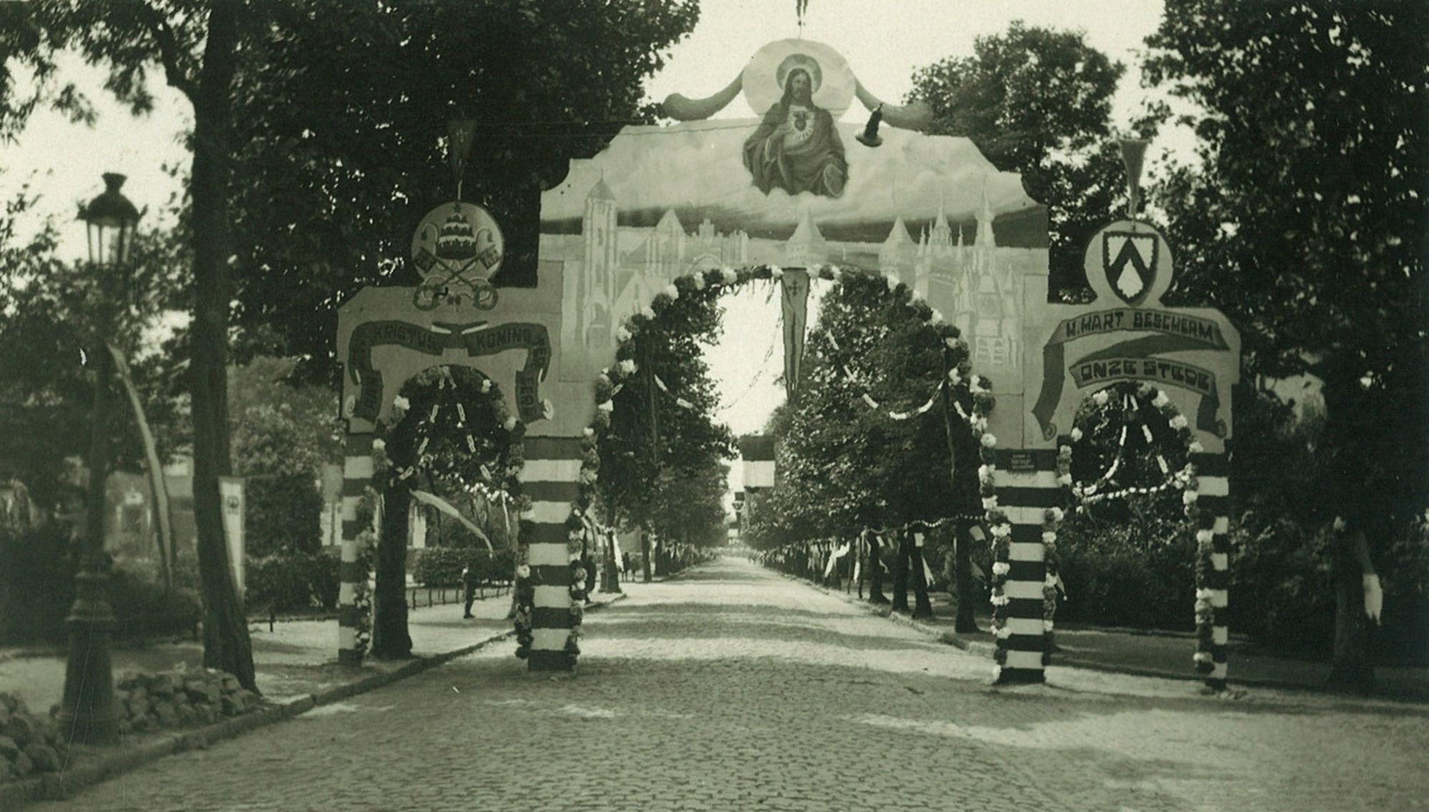 Toewijding van de stad Kortrijk aan het H. Hart