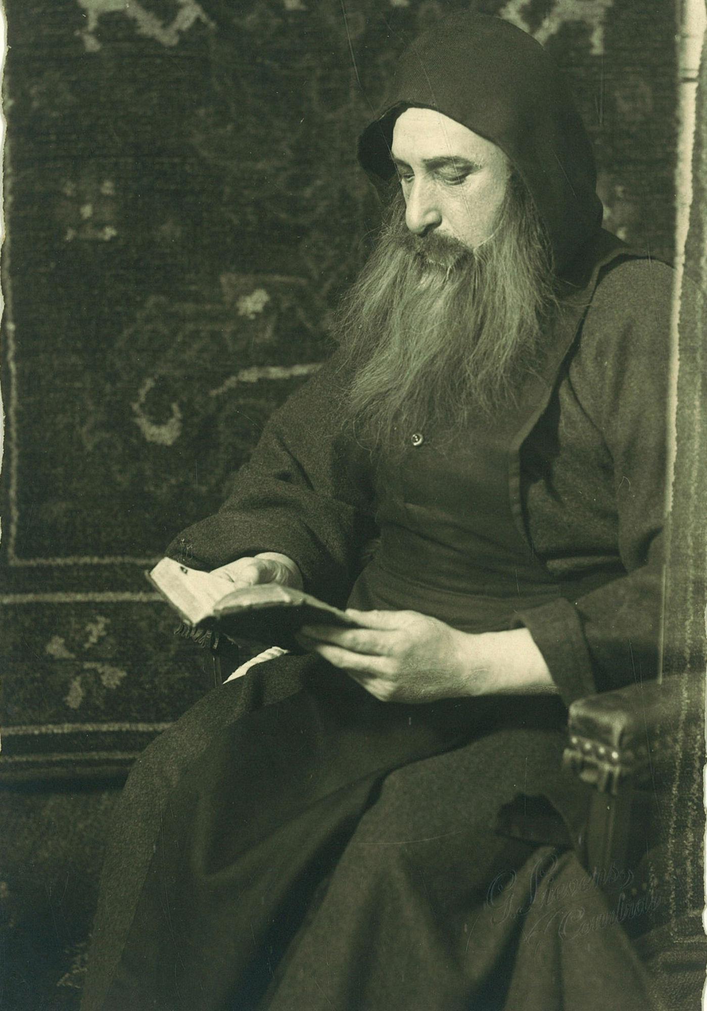 Toneelspeler Edouard Lafaut
