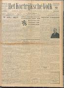 Het Kortrijksche Volk 1927-07-10