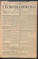 L'echo De Courtrai 1907-08-25
