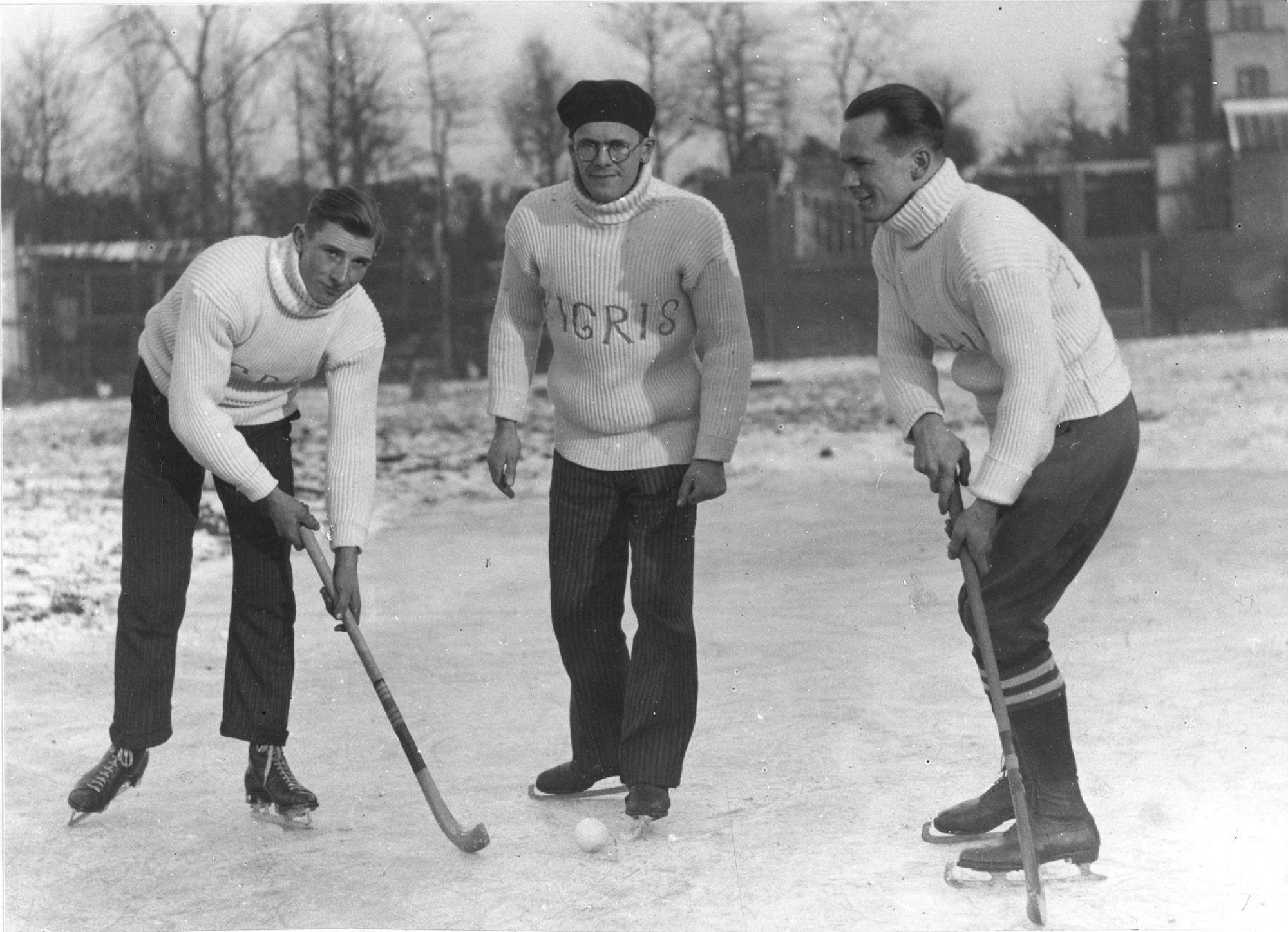 Ijshockey op de vaart
