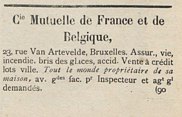 Cio Mu(uellc de France et de Belgique