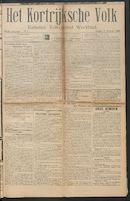 Het Kortrijksche Volk 1914-02-01