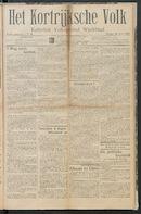 Het Kortrijksche Volk 1914-06-28