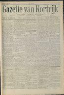 Gazette Van Kortrijk 1916-08-12
