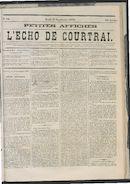 L'echo De Courtrai 1873-09-11