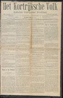 Het Kortrijksche Volk 1909-04-25