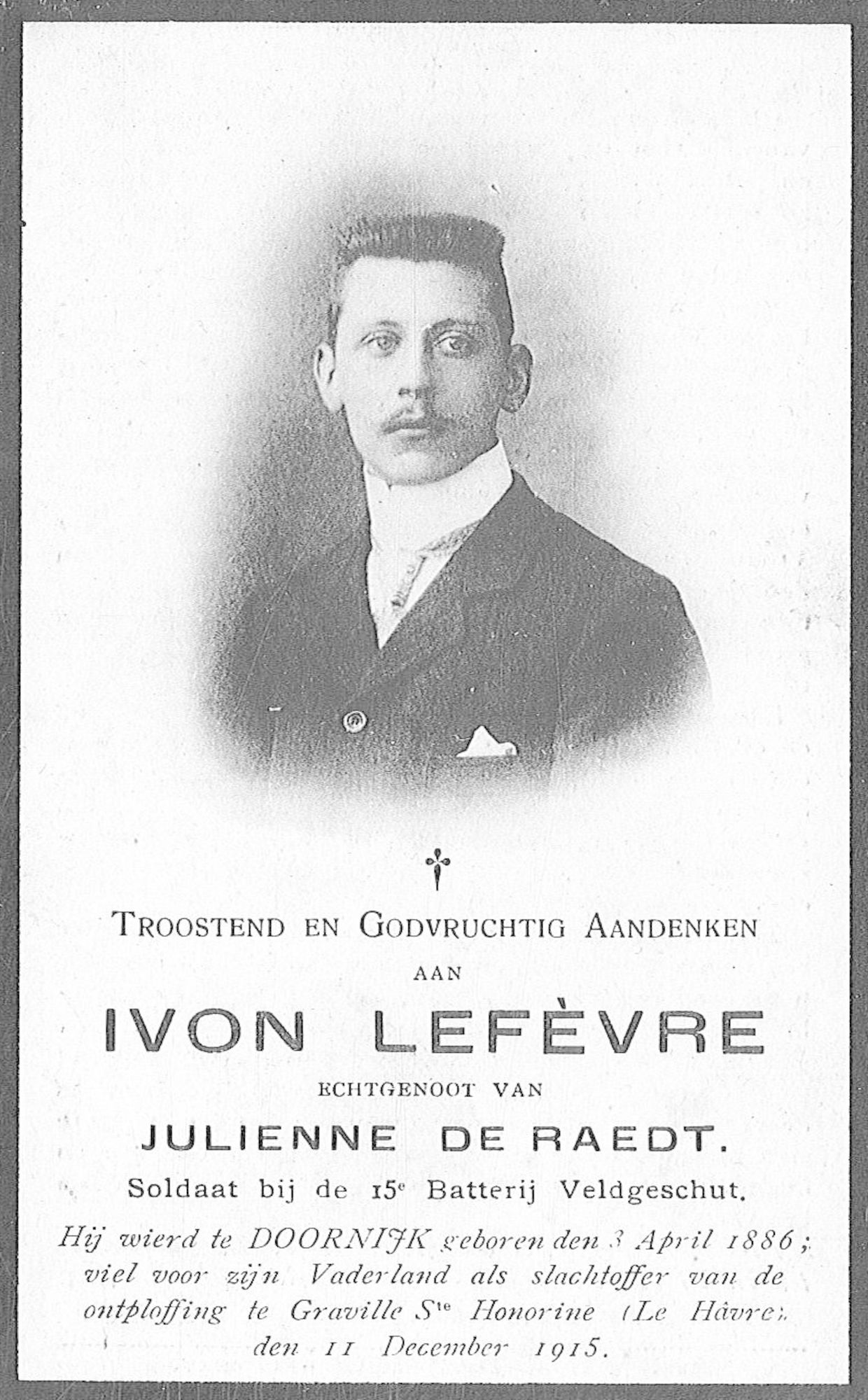 Ivon Lefèvre