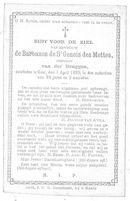 Barones de Saint Genois des Mottes