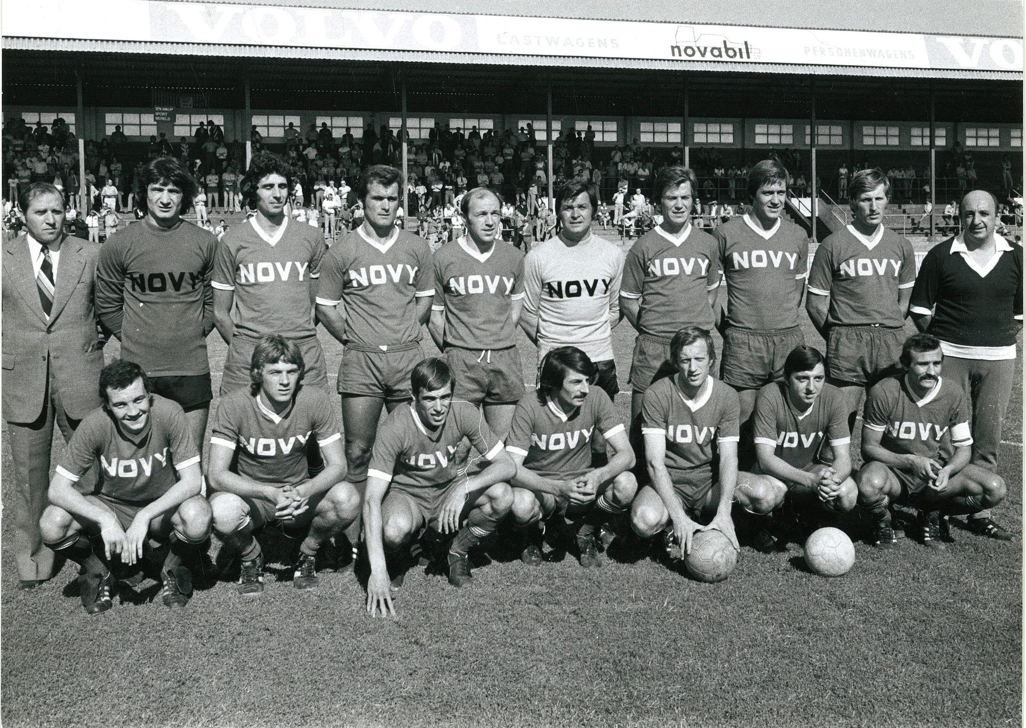 KVK terug in eerste klasse 1976