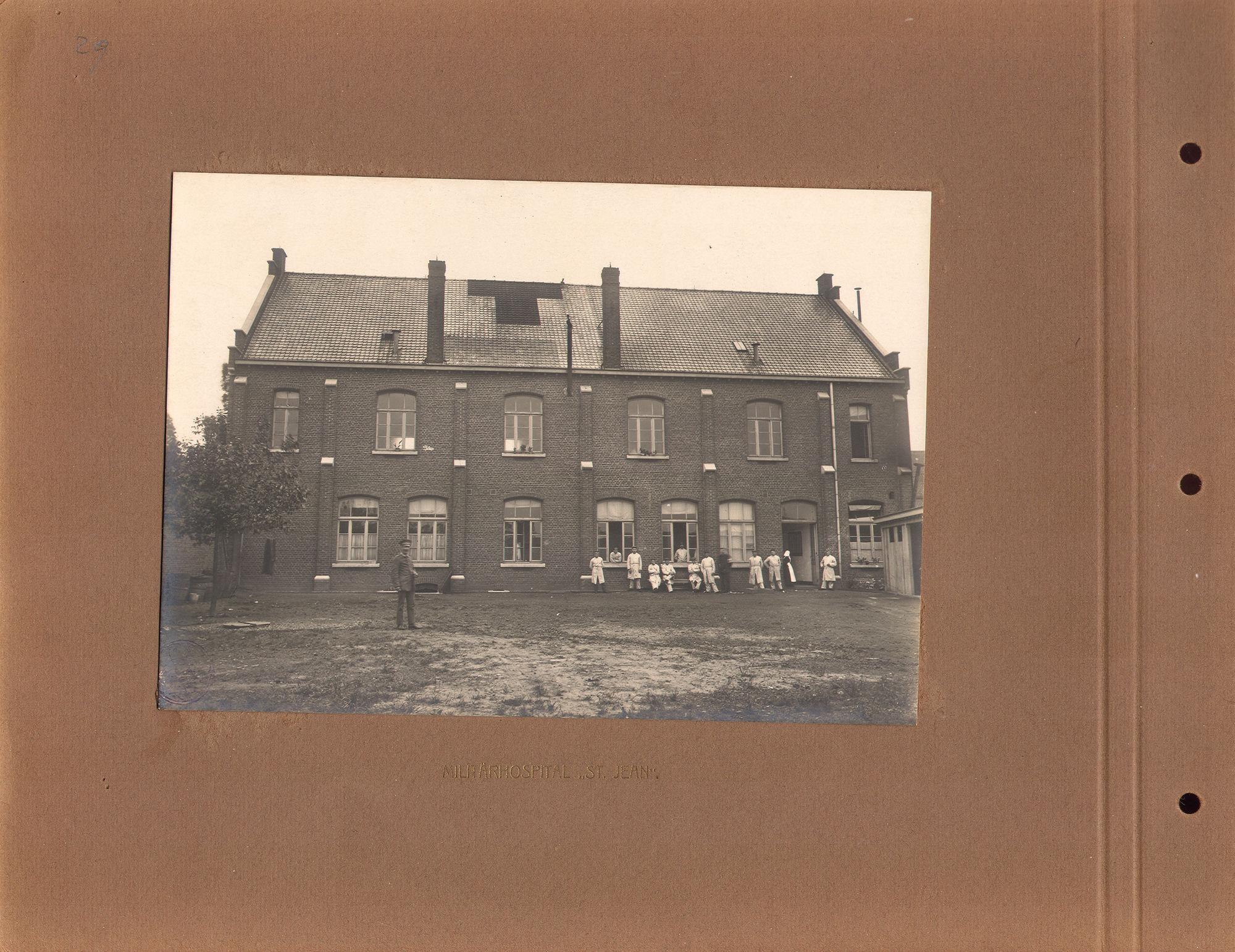 Hospitaal Sint-Jan tijdens Wereldoorlog I