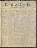 Gazette Van Kortrijk 1912-11-14