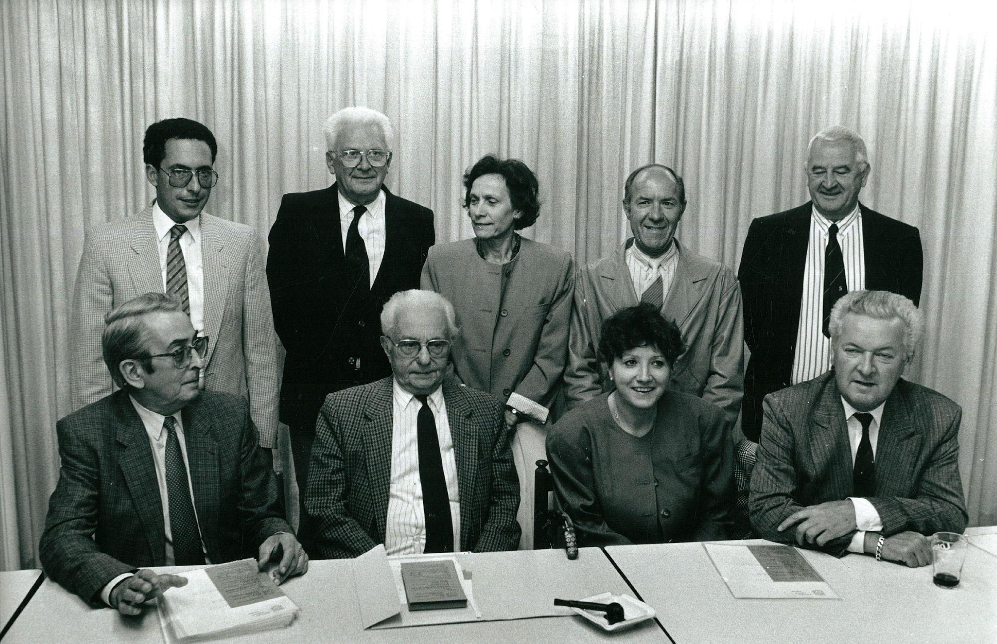 Bestuur Kortrijks Lyrisch Toneel in 1989