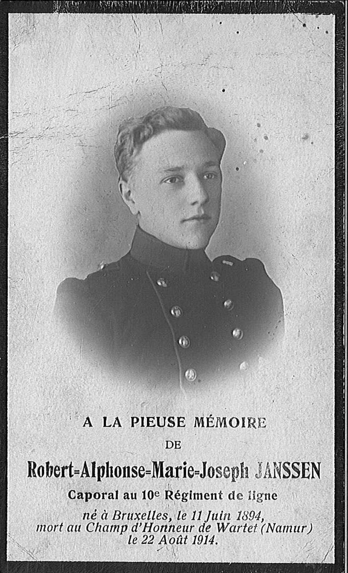 Robert-Alphonse-Marie-Joseph Janssen