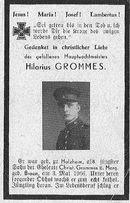 Hilarius Grommes