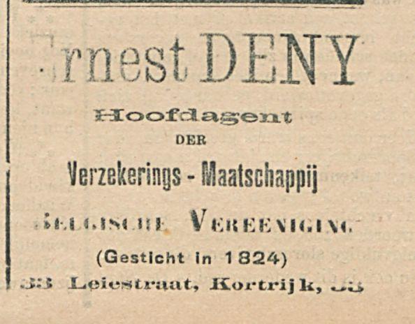 Ernest DENY