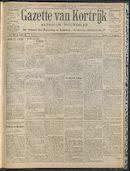 Gazette Van Kortrijk 1909-07-01