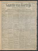 Gazette Van Kortrijk 1909-09-19