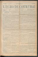 L'echo De Courtrai 1910-09-08