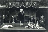 Duitse Ambassadeur op bezoek te Kortrijk 1986