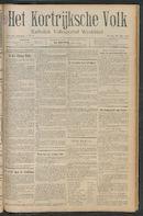 Het Kortrijksche Volk 1911-07-30