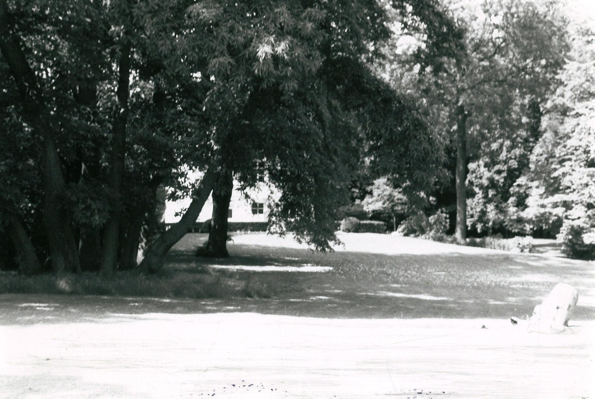 Tuin van het toemalige hositaal van dokter Lauwers