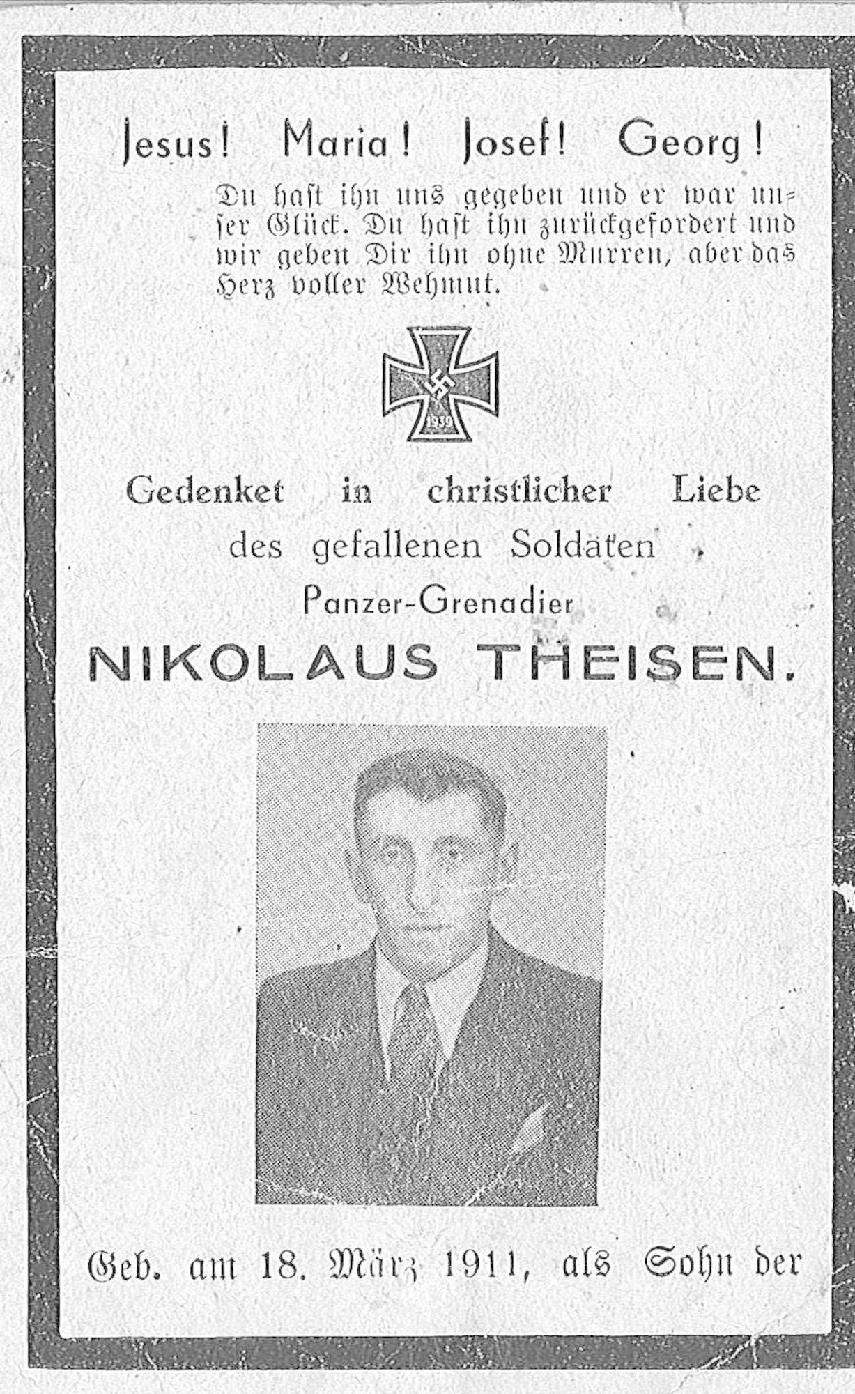 Nikolaus Theisen