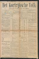 Het Kortrijksche Volk 1909-01-03