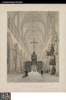 Westflandrica - Brugge, interieur van Onze-Lieve-Vrouwekerk