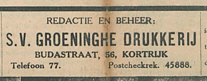 GROENINGKE DRUKKERIJ