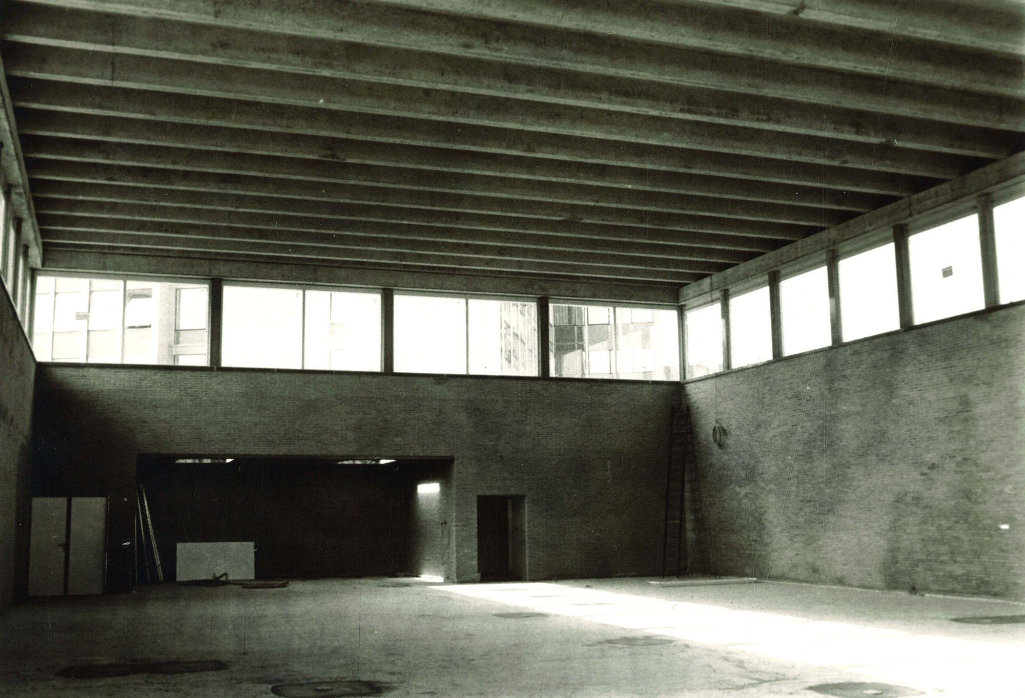 Bouw sporthal Sint-Theresia-Instituut