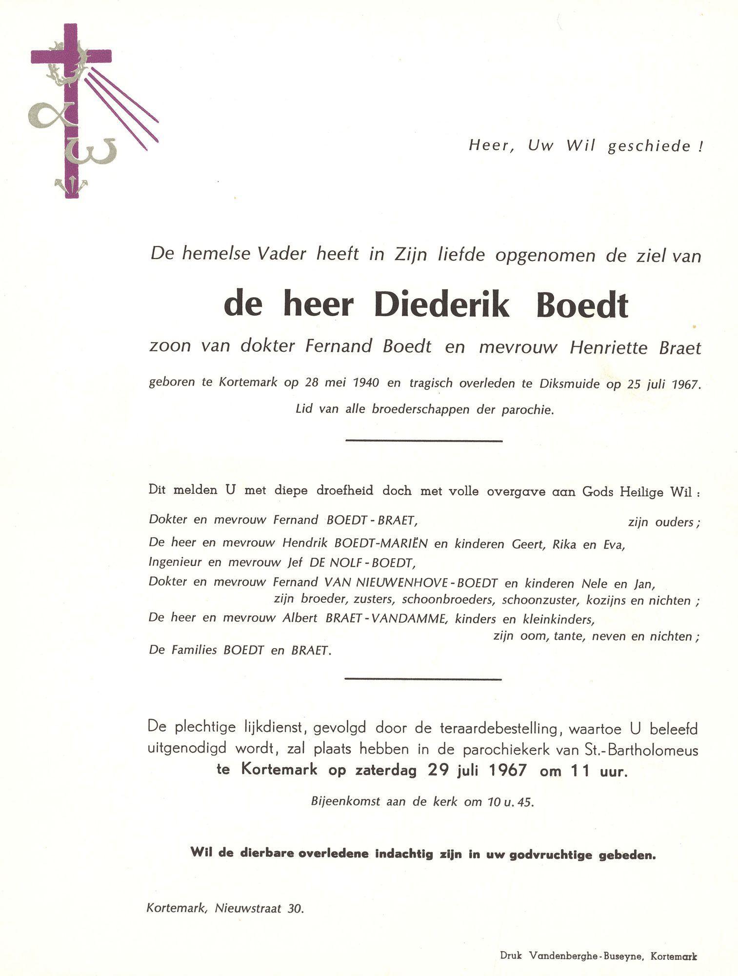 Diederik Boedt