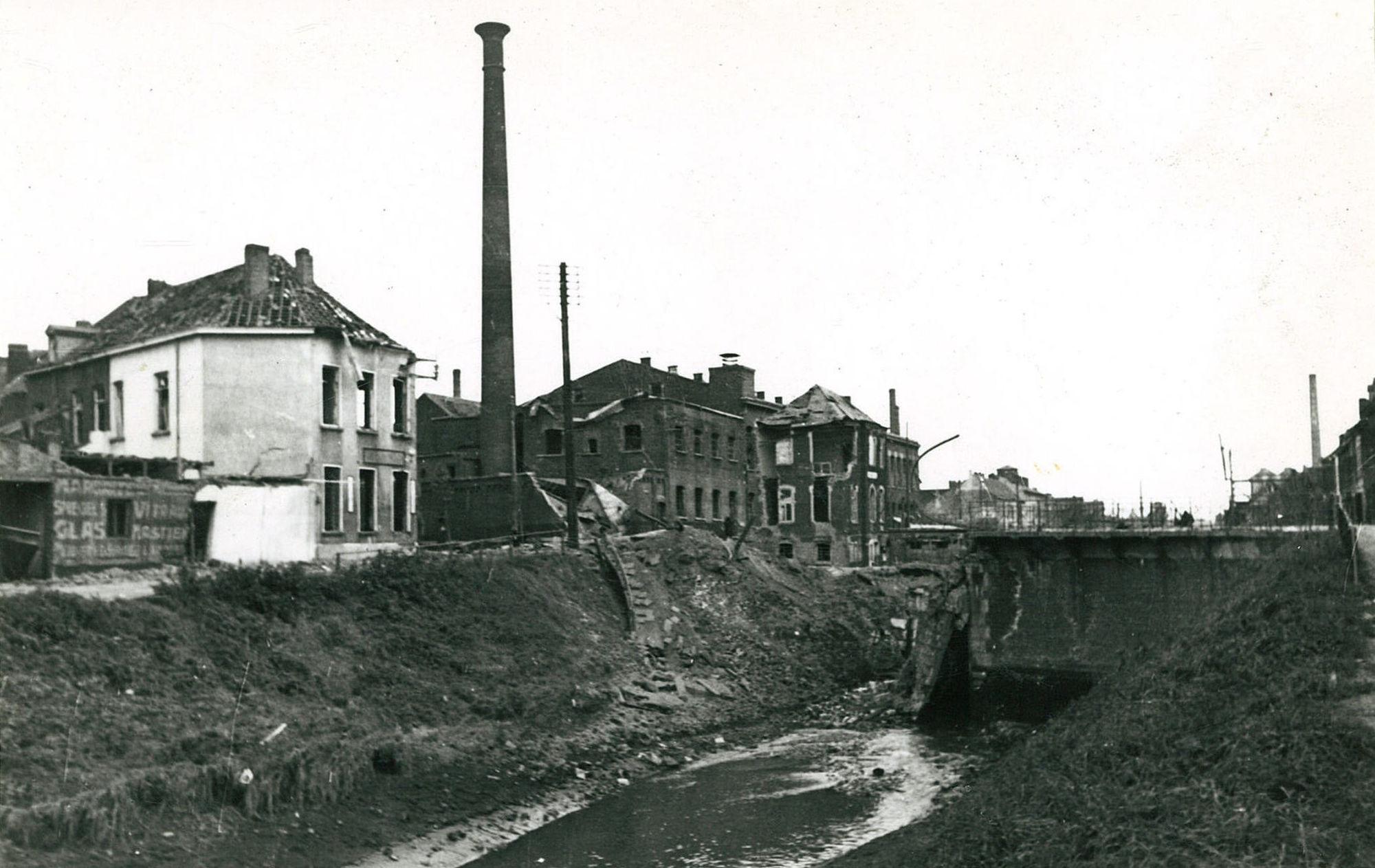 Vaart Bossuit-Kortrijk in mei 1940