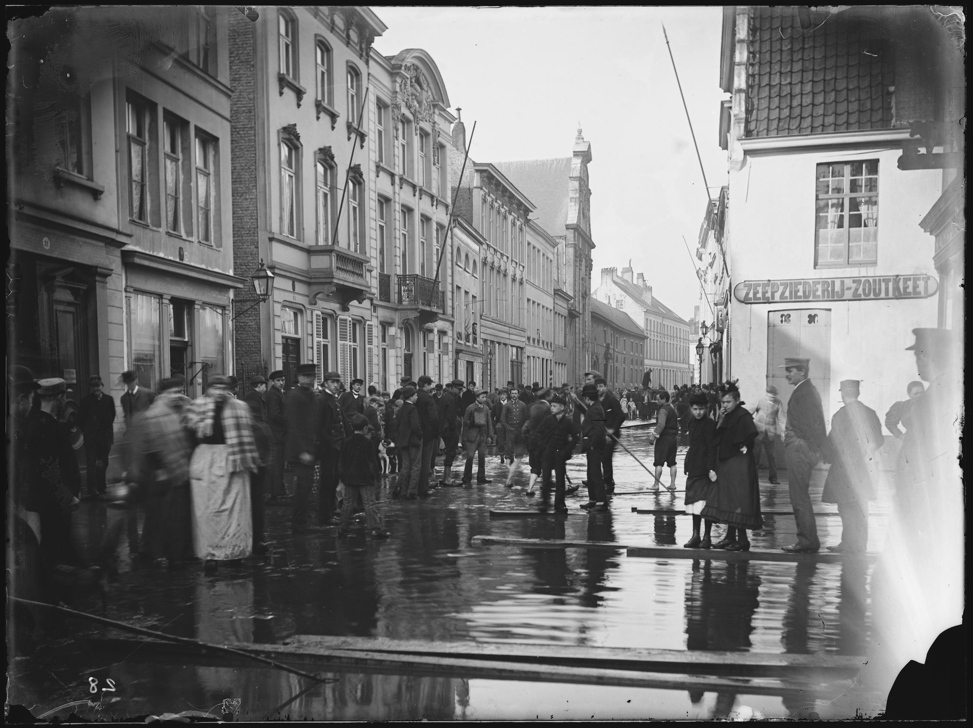 Budastraat in 1894