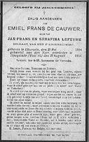 Emiel-Frans De Cauwer