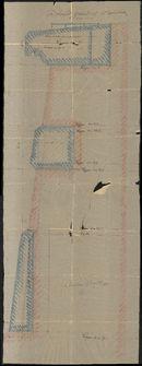 Plattegronden voor de bouw van een kiosk op het Plein te Kortrijk, 1885