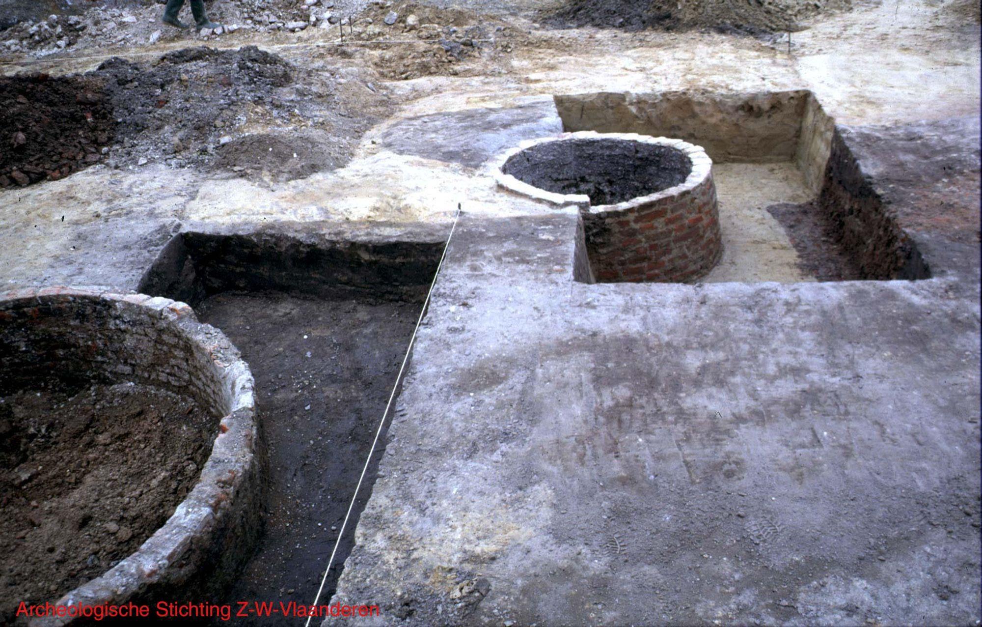 Houtmarkt.opgravingen Patershuis