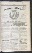 Petites Affiches De Courtrai 1836-10-23