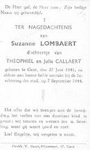 Suzanne Lombaert