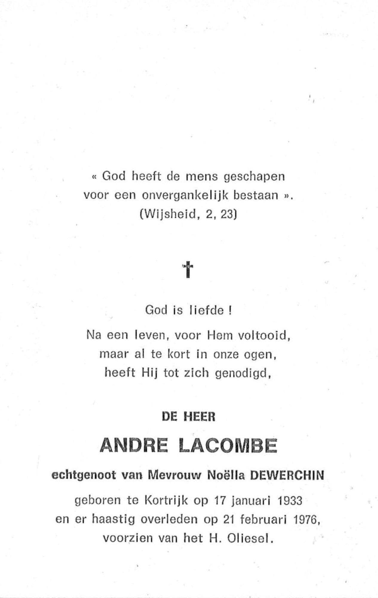Andre Lacombe