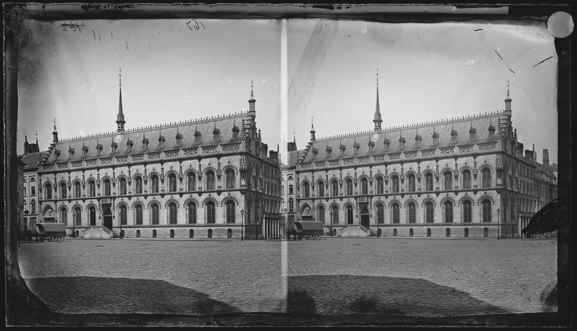 Stadhuis rond 1865