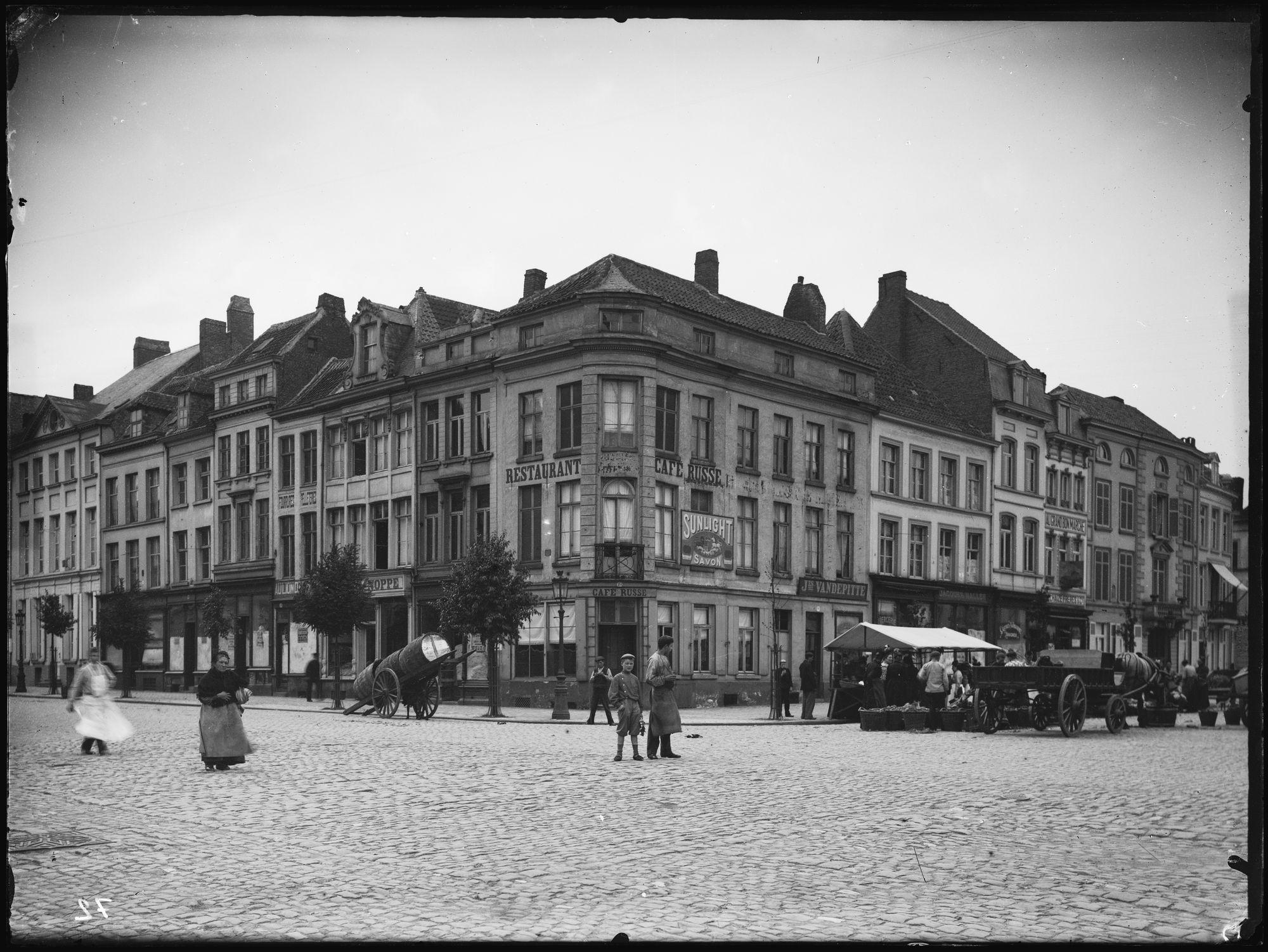 Doorniksestraat voor 1906